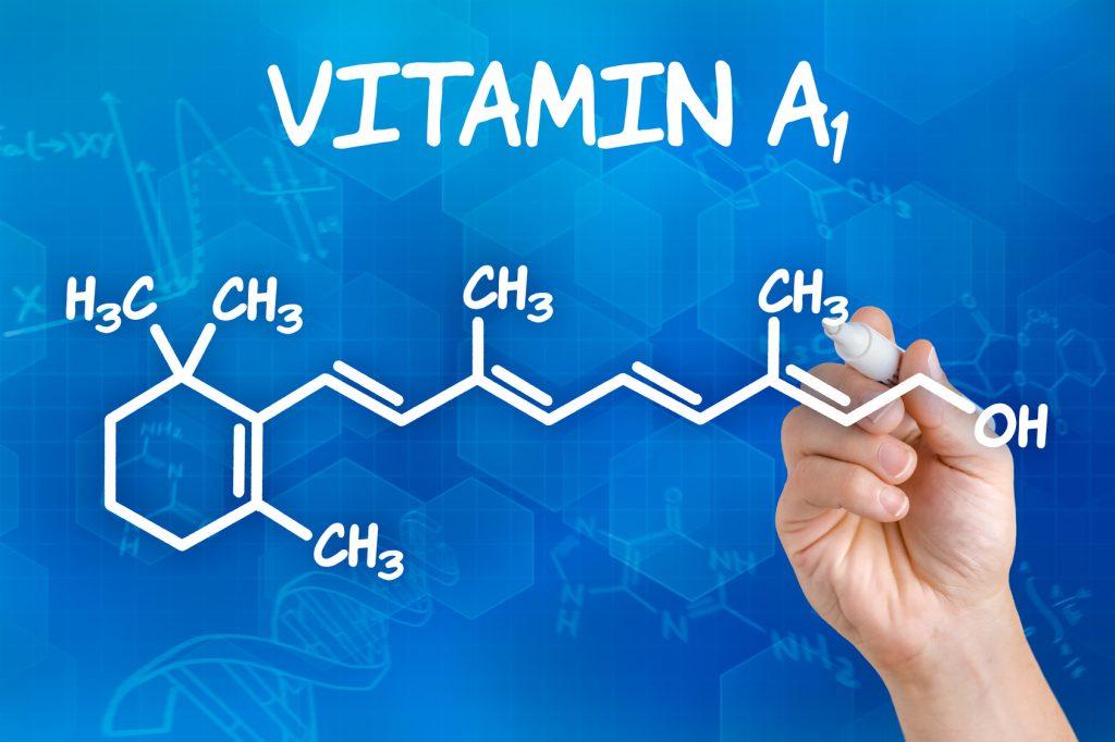 retinolo vitamina a1 formula chimica